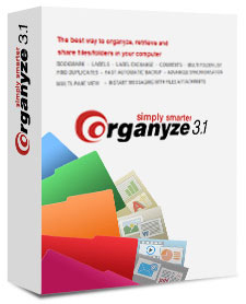 Organyze 3.1 - The best way to organize and manage files, folders and emails