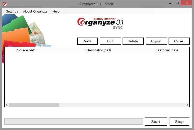Organyze 3.1 SYNC